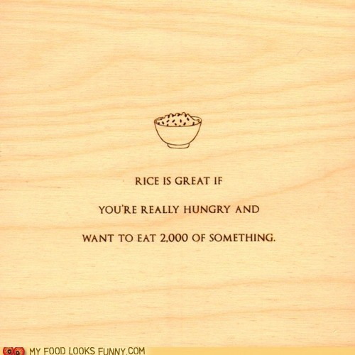 joke,mitch hedberg,rice