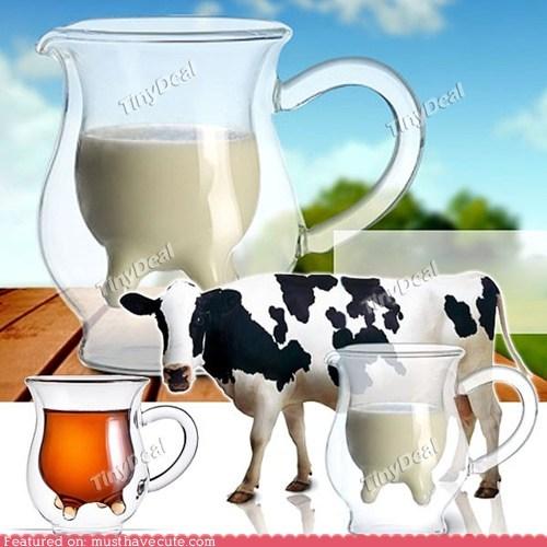 cow creamer milk pitcher udder