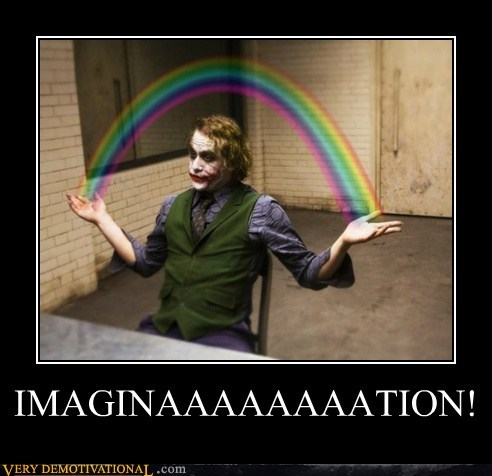 happy hilarious imagination joker rainbow - 6480659712