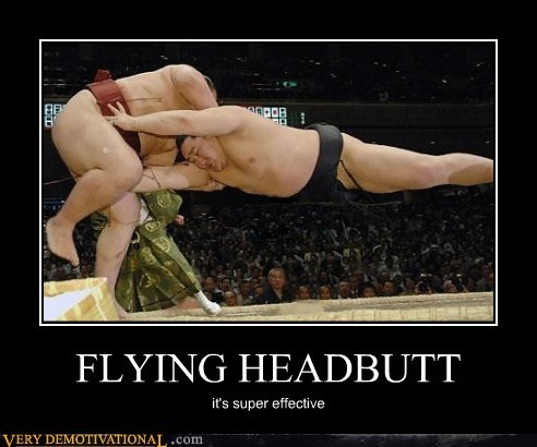 e honda flying headbutt Pure Awesome wtf - 6480703232
