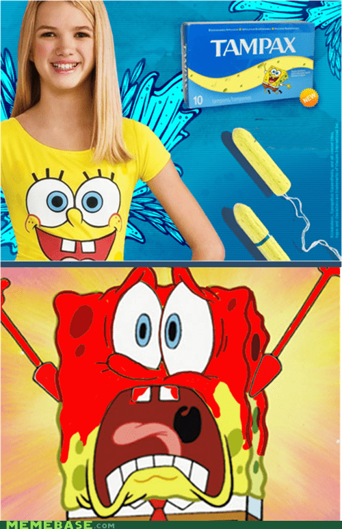best of week,ladytimes,Memes,SpongeBob SquarePants,tampons,wtf