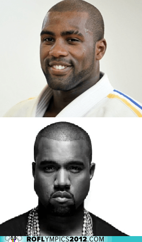 france gold judo kanye west London 2012 olympics totally looks like - 6481020928