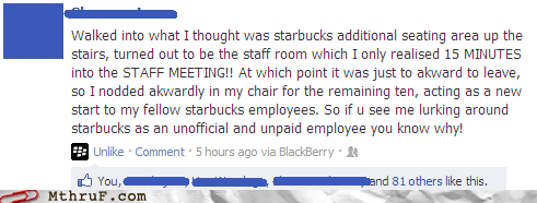 coffee,employee,free coffee,Starbucks