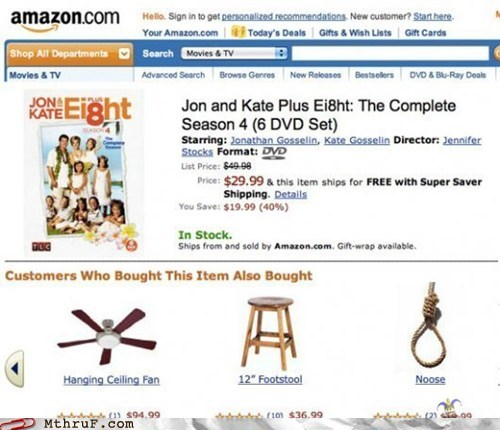 amazon,jon and kate plus 8,noose,suicide