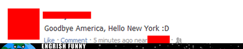 america,facebook,goodbye america,new york,new york city,nyc