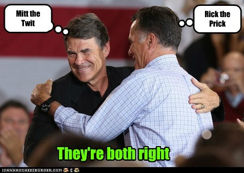 Rick the Prick Mitt the Twit They're both right