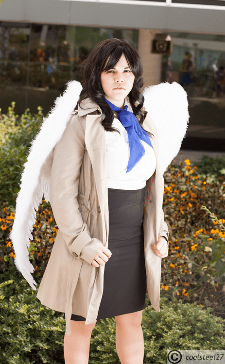 castiel cosplay rule 63 Supernatural - 6481389312