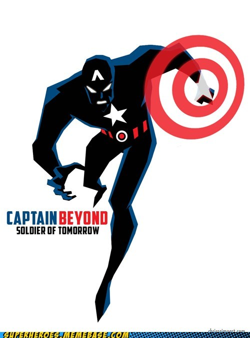 Awesome Art,batman beyond,captain america
