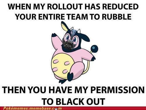 bane batman meme Memes miltank permission to die rollout