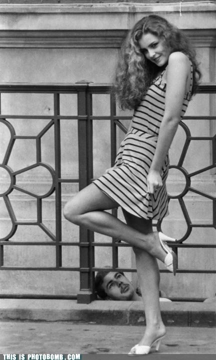 70s,black and white,fashion shoot,girl,Moment Of Win,upskirt