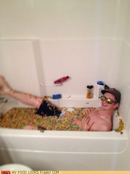 bathtub,bro,cereal,yolo