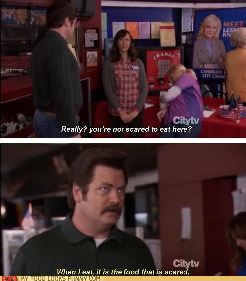eat,parks and rec,restaurant,ron swanson