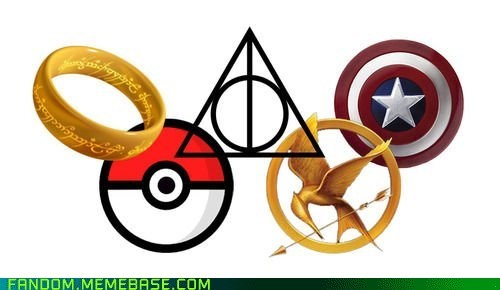 captain america Harry Potter hunger games It Came From the It Came From the Interwebz Lord of the Rings Pokémon - 6481793280