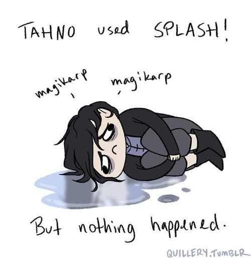 korra Fan Art magikarp Pokémon splash tahno - 6481809408