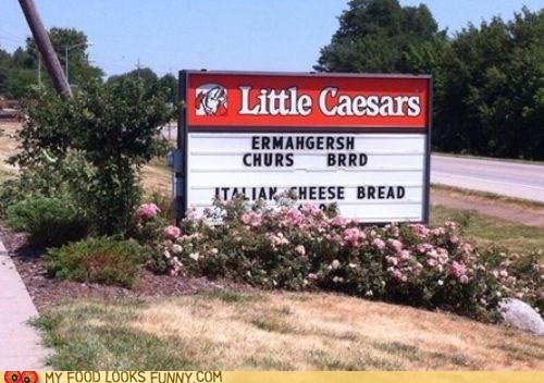 marquee pizza sign - 6481821440