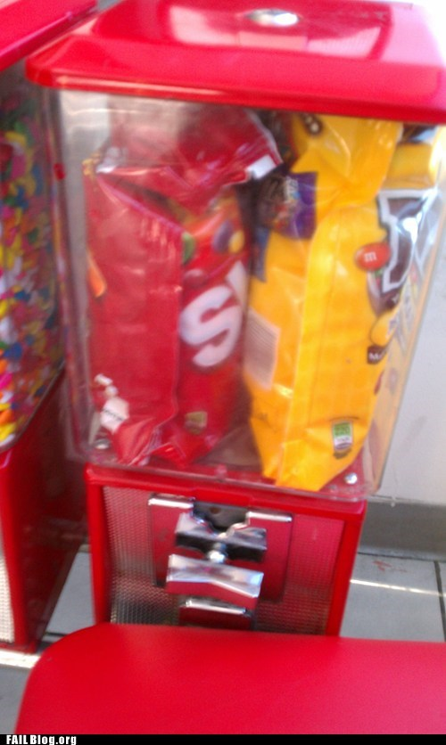 bags candy dispenser fail nation g rated mms m&ms skittles - 6481913600