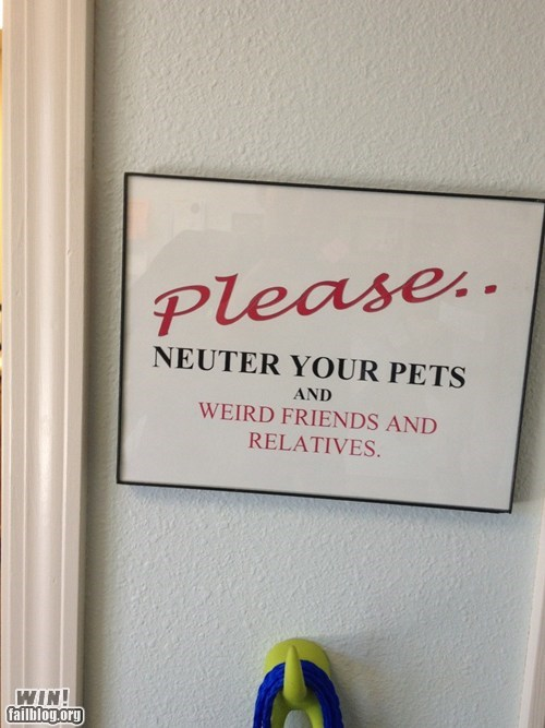 clever,family,neuter,sign,troofax,true facts