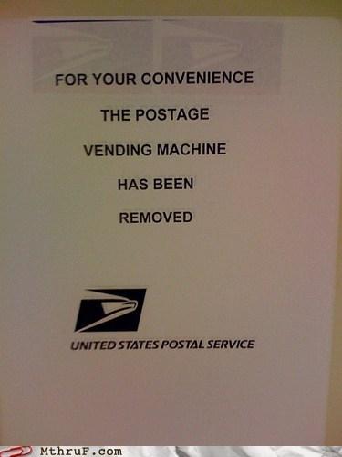 postal service usps vending machine - 6482093568