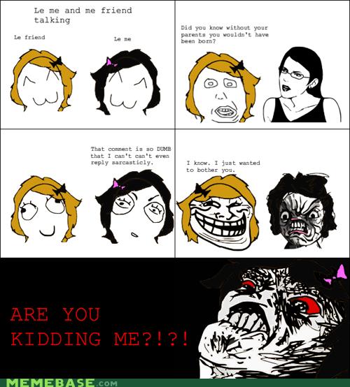 dumb blonde Rage Comics raisin rage troll - 6482167808