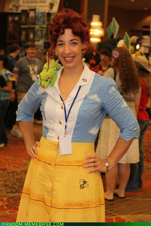 convention cosplay Miss Frizzle the magic schoolbus - 6482722048