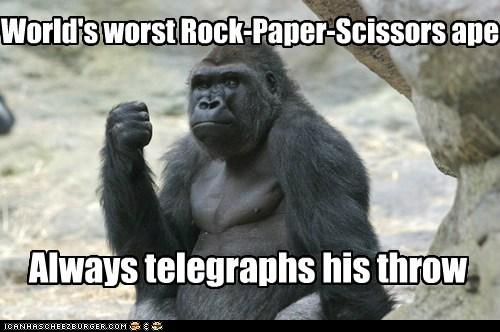 always gorilla rock rock paper scissors - 6482910208