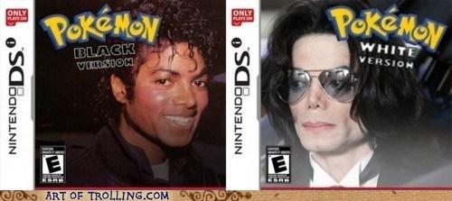 black and white michael jackson Pokémon - 6482951424