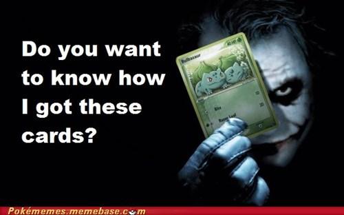 batman joker Memes scars TCG trading cards - 6482973696