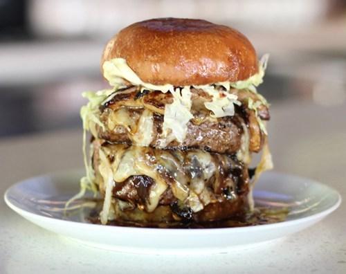 cheeseburgers Foie Gras Burger foodies - 6483042560