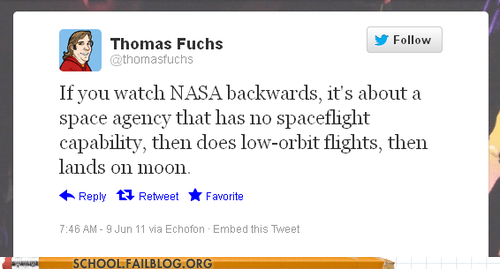 depressing History in reverse nasa Thomas Fuchs - 6483161344