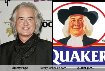 celeb food funny Jimmy Page Music quaker oats TLL - 6484173568
