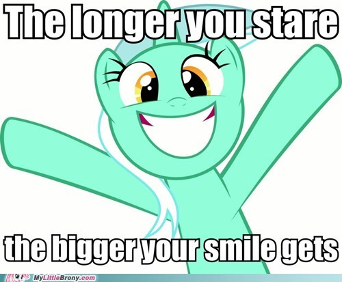lyra smile the internets the longer you stare - 6484425728