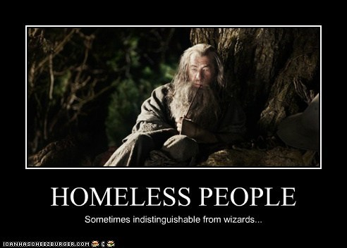 gandalf homeless ian mckellen looks like Lord of the Rings smoking wizard
