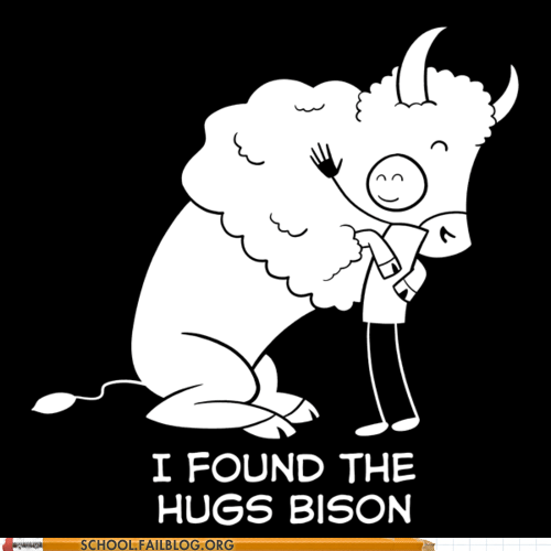 higgs boson hugs bison particle physics - 6485287680