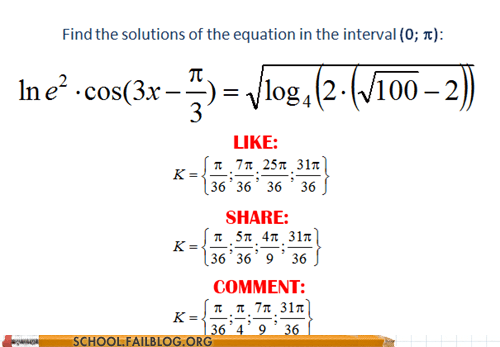 comment,facebook math,like,math,share