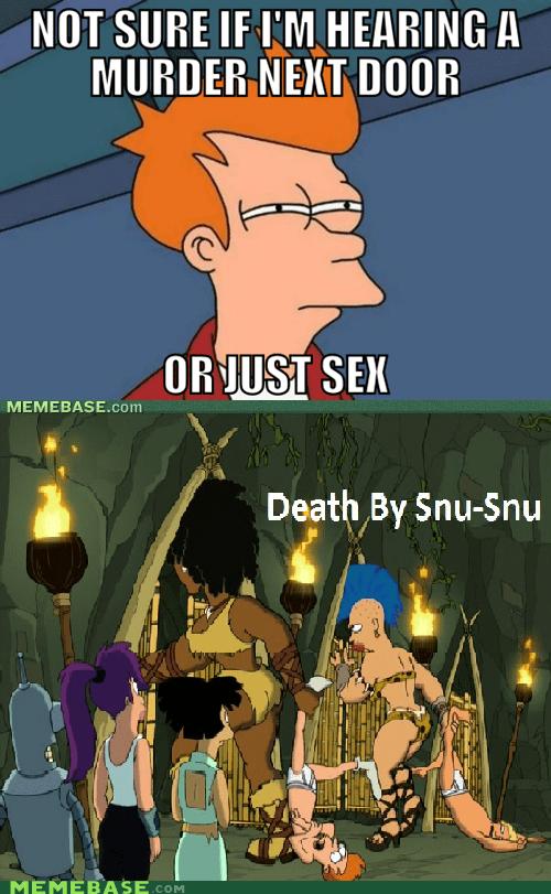 fry futurama murder sexytimes