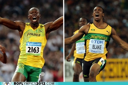 100m game on justin gatlin Track & Field tyson gay usain bolt Yohan Blake - 6485815808