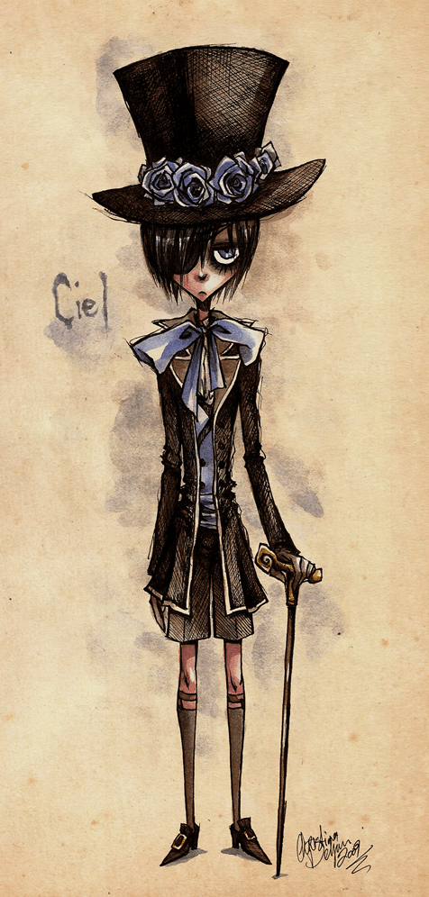 anime black butler Ciel Phantomhive Fan Art manga - 6485893376