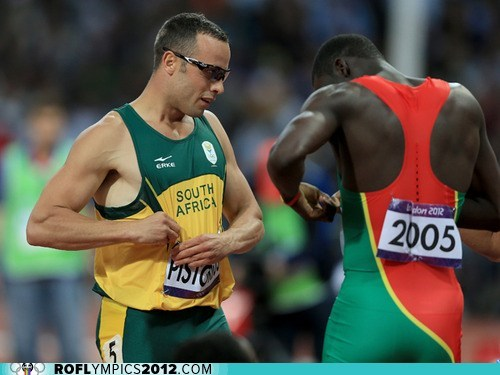 feels grenada London 2012 olympic pistorius South Africa sportsmanship - 6486031872