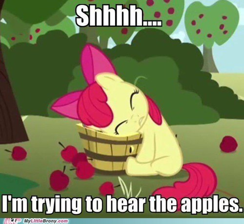 applebloom apples shh the internets - 6486142720