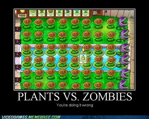 gameplay over 9000 plants vs zombies sun power sunflower - 6486215168