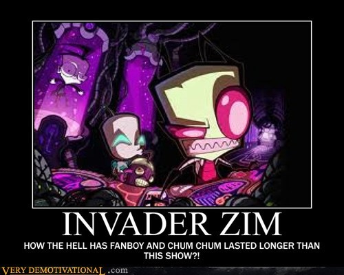 horrible Invader Zim nickelodeon Sad - 6486405888