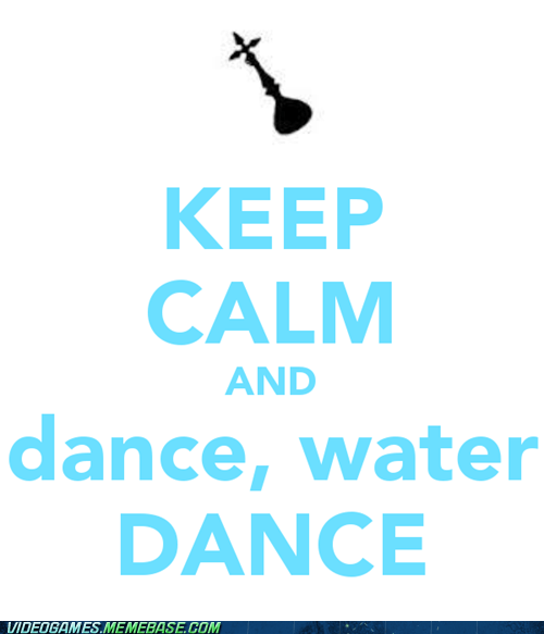 best of week dance water dance demyx keep calm kingdom hearts 2 meme - 6486453504