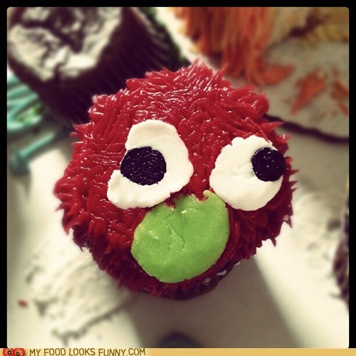 cupcake face frosting muppet smashed - 6486786816