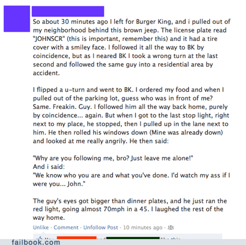 burger king failbook g rated stalker stalking - 6486874624