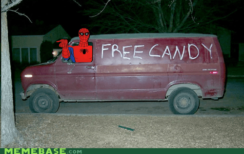 free candy friendly Spider-Man - 6486919424