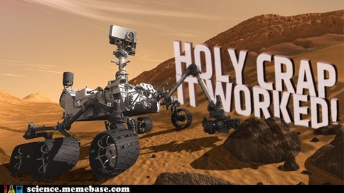 curiosity,it worked,Mars,Rocket Science,rover