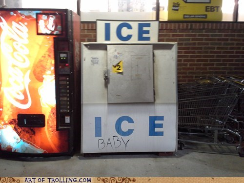 ice,ice ice baby,ice machine,IRL