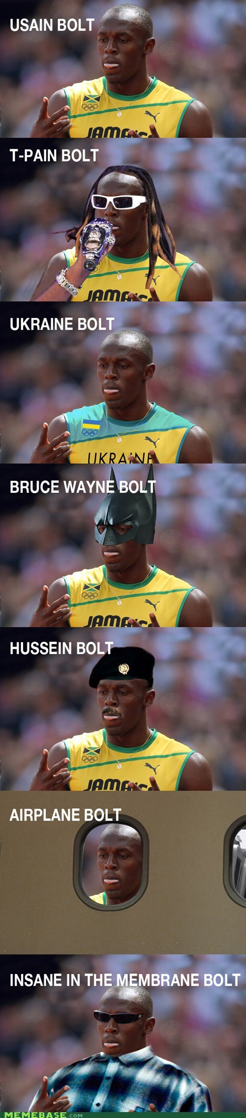 olympics,photoshop,puns,t pain,usain bolt