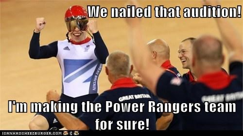 cycling,London 2012,olympics,power rangers,team gb