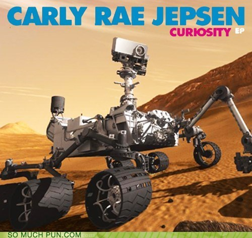 carly rae jepsen curiosity curiosity ep double meaning expedition Hall of Fame Mars nasa same name - 6487319296